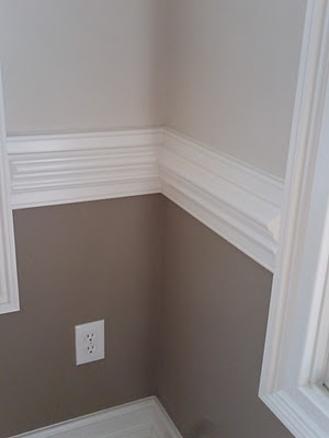 what to do with wainscoting and chair rails colorzenblog. Black Bedroom Furniture Sets. Home Design Ideas