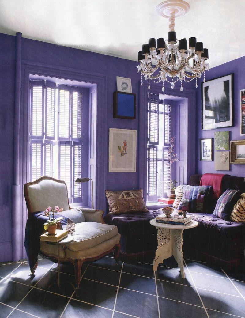 Purple Dining Room ~ richardmartin.us